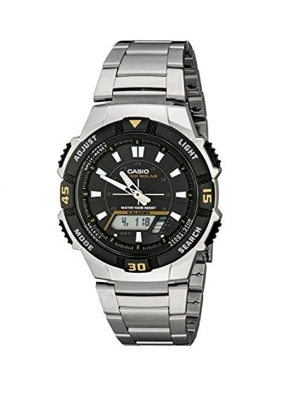 Casio Men's AQS800WD-1EV Multi-Function Analog-Digital Watch