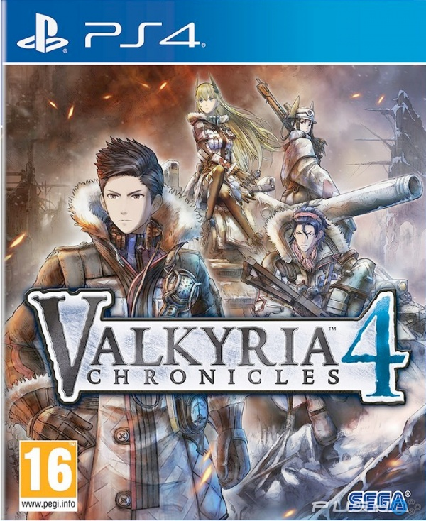 Game Valkyria Chronicles 4 PS4 New