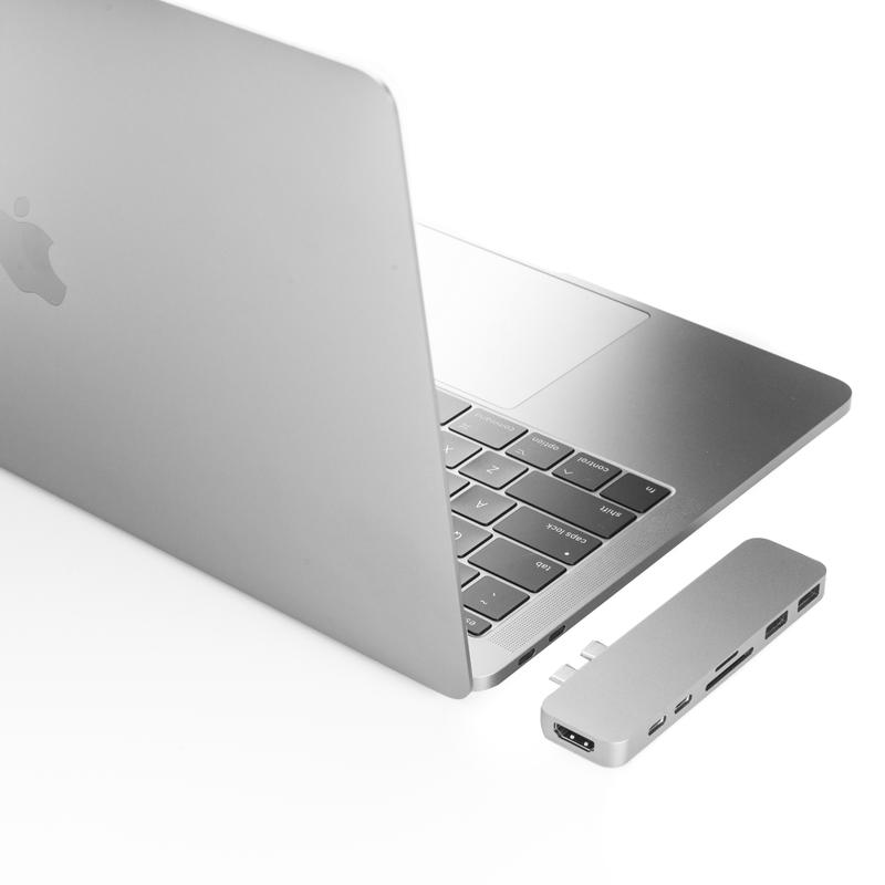 Cổng Chuyển HyperDrive DUO Hub for USB-C MacBook Pro 13