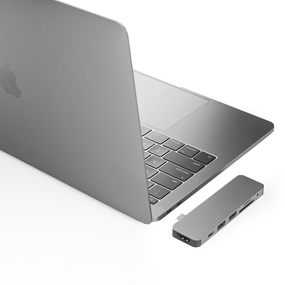 HYPERDRIVE SOLO 7-IN-1 USB-C HUB FOR MACBOOK, PC