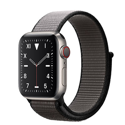 Apple Watch Edition Series 5 Titanium Case with Sport Loop (GPS+CELLULAR)