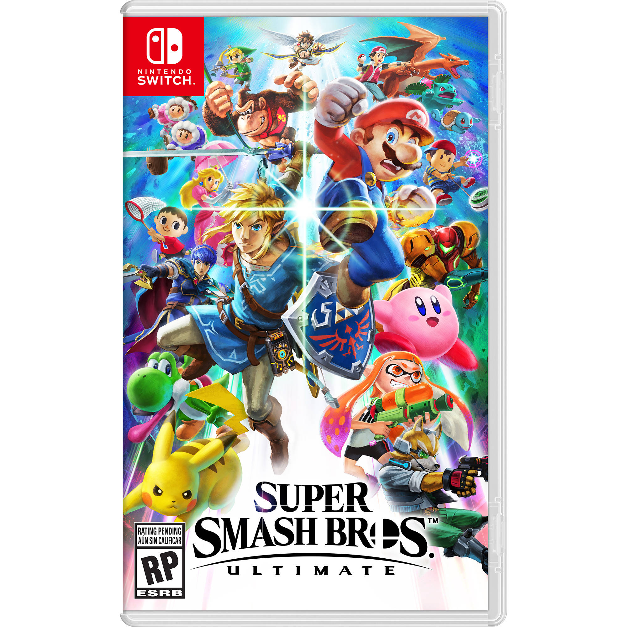 Game Super Smash Bros. Ultimate Nintendo Switch New