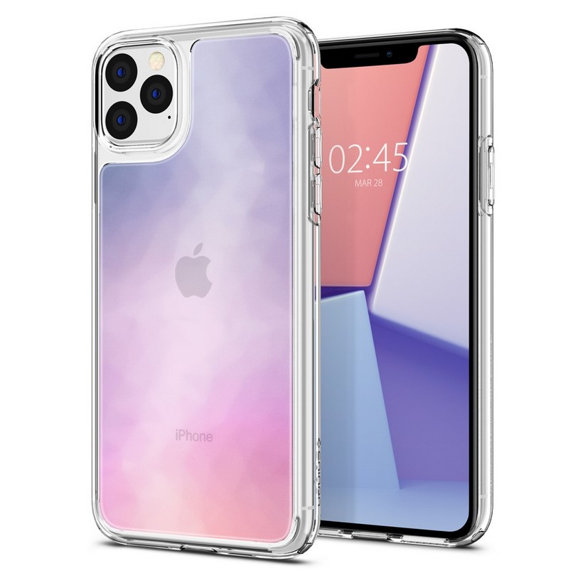 Ốp lưng SPIGEN iPhone 11 Pro Max Case Crystal Hybrid Quartz