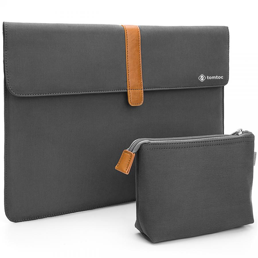 "Túi chống sốc TOMTOC ENVELOPE + POUCH MACBOOK PRO 13"" NEW"