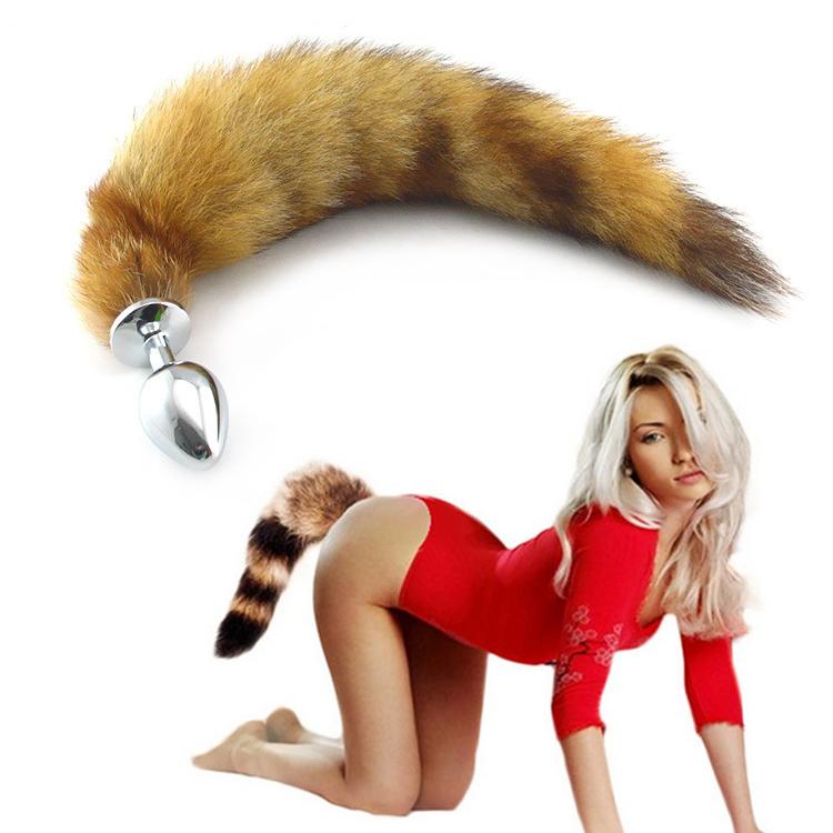 Dụng cụ bạo dâm kích thích hậu môn đuôi cáo