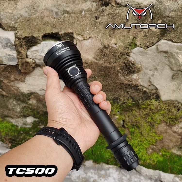 AMUTORCH TC500 SỬ DỤNG 2 PIN 21700