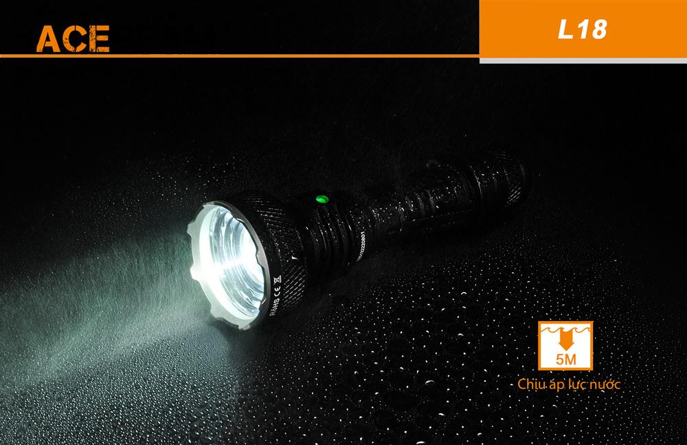 Đèn Pin ACEBEAM L18 Chiếu Xa 1000m