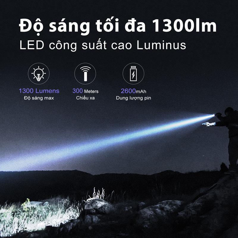 Đèn Pin Tác Chiến KLARUS XT11R