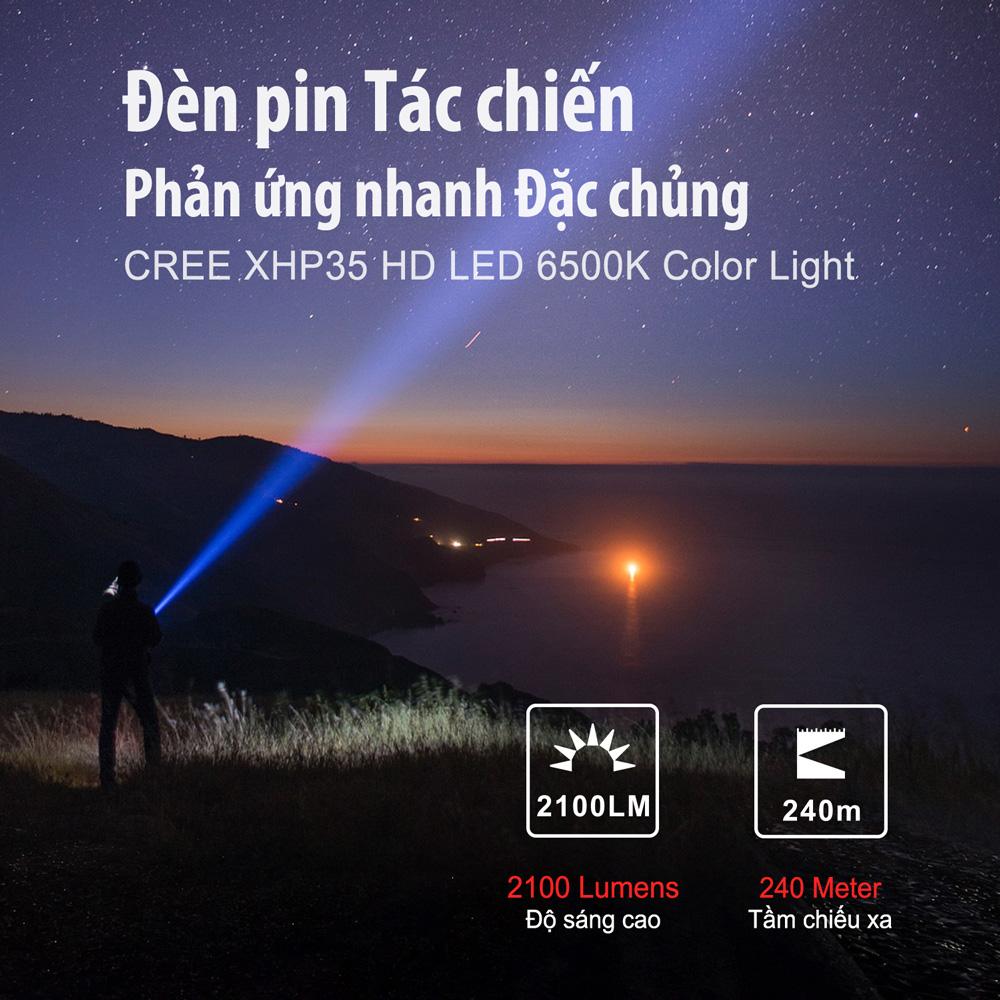 Đèn Pin KLARUS XT2CR PRO