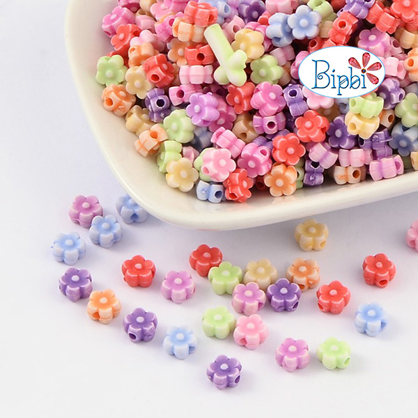 NM 29 - Hạt nhựa hình bông hoa