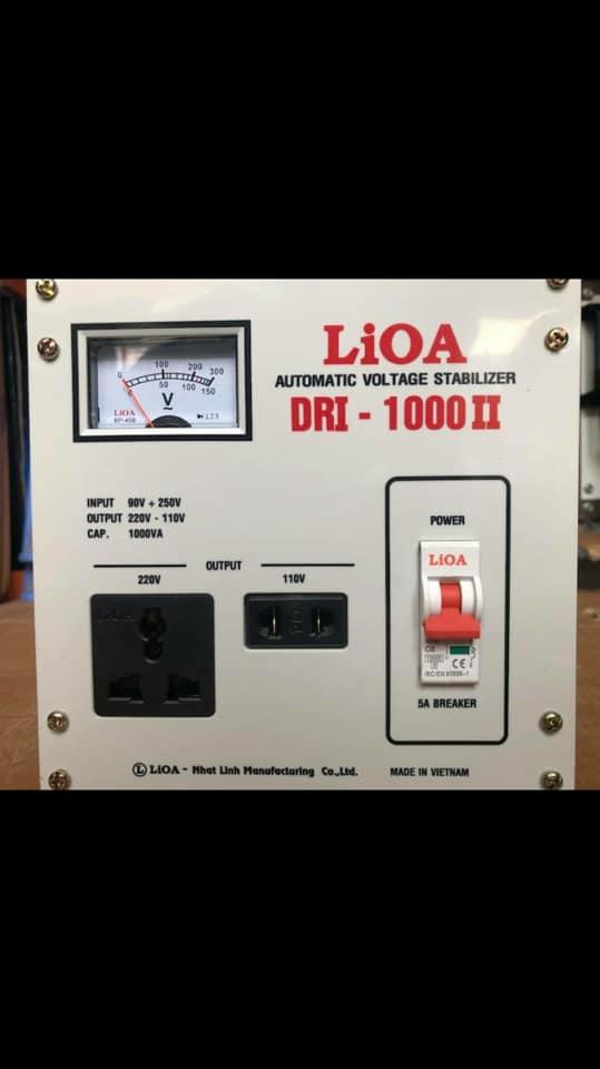 ỔN ÁP LIOA 1PHA 1KVA DRI-1000 (90V~250V)
