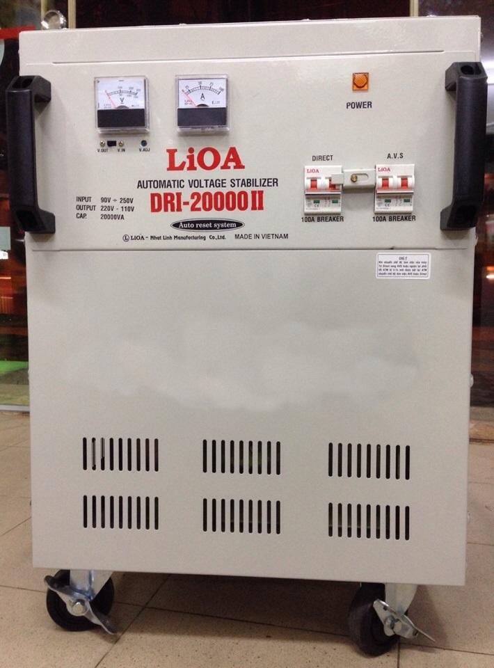 ỔN ÁP LIOA 20KVA DRI-20000(90~250V)