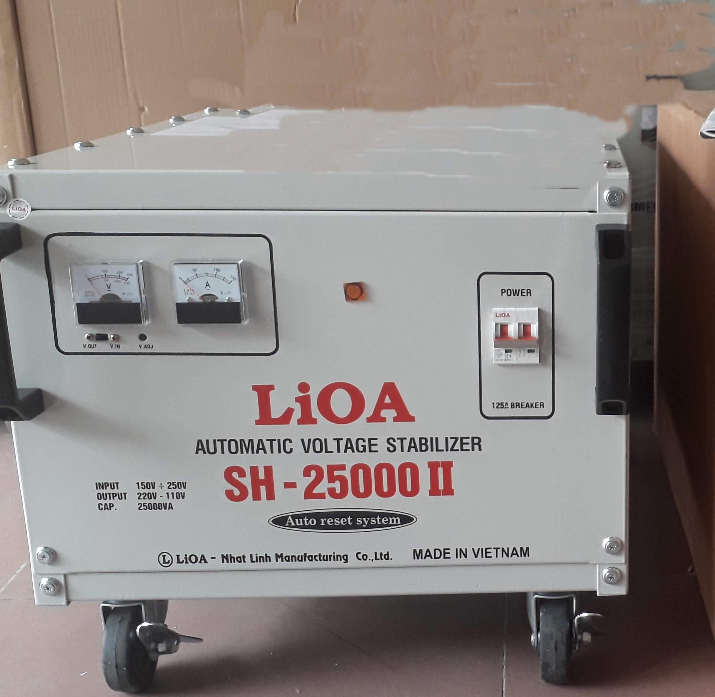 ỔN ÁP LIOA-SH 25KVA(150~250V)
