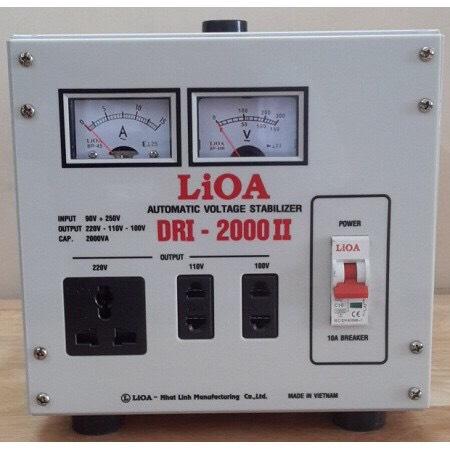 ỔN ÁP LIOA 1PHA 2KVA DRI-2000 (90V~250V)