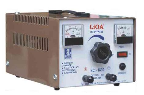 NẠP LIOA BC18-30 (18V-30A)