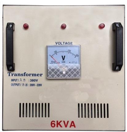 Copy of BIẾN ÁP 6KVA 3 PHA  ( VÀO 380V RA 200V/220V )
