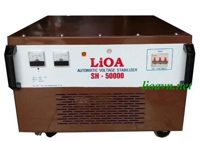 ỔN ÁP LIOA 1PHA SH 50KVA (150V~250V)