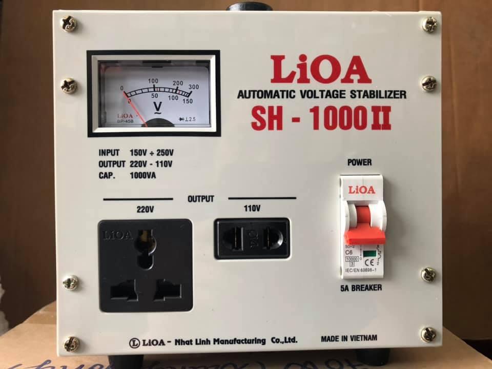 ỔN ÁP LIOA 1PHA 1KVA SH-1000 (150v~250v)