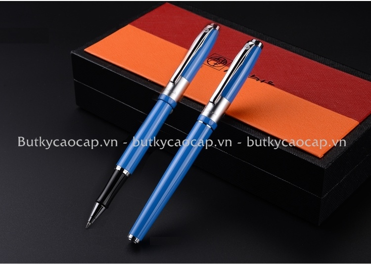 Bút dạ bi cao cấp Picasso PS-923 màu xanh