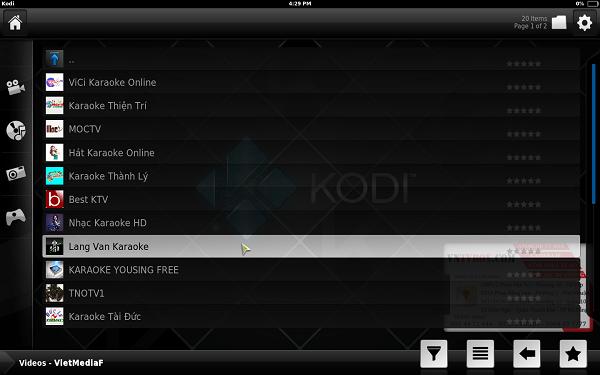 Kodi 16.1 mới nhất