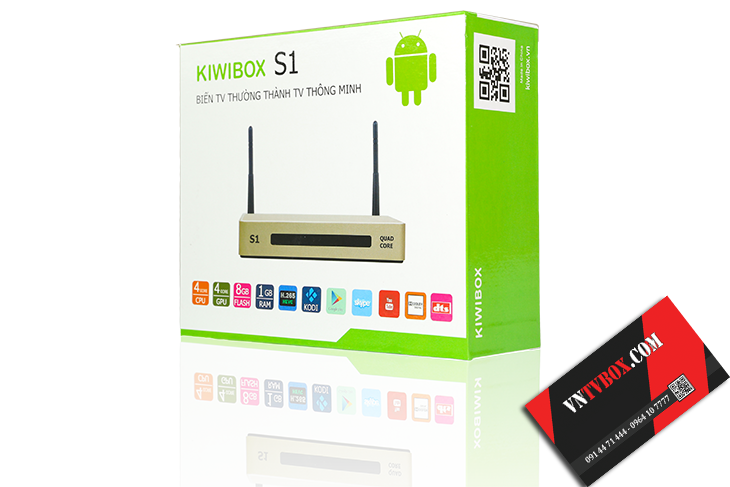Android TV Box KiwiboxS1 giá rẻ