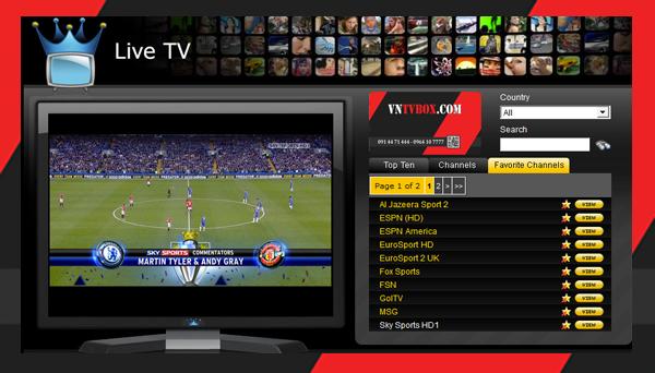 Bộ công cụ xem bóng đá miễn phí tốt nhất rõ nét chất lượng cao