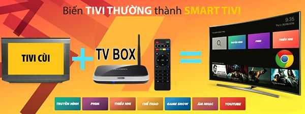 Cách biến tivi thường thành TV thông minh kết nối internet như SmartTV