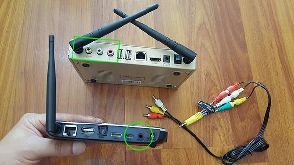 Cách chuyển đổi jack tín hiệu RCA bông sen sang AV AUX 3.5 & ngược lại