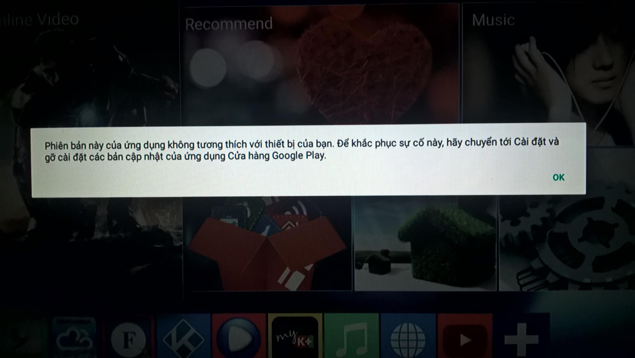 Cách khắc phục sửa lỗi CH Play android 6.0 ko tương thích gỡ cập nhật