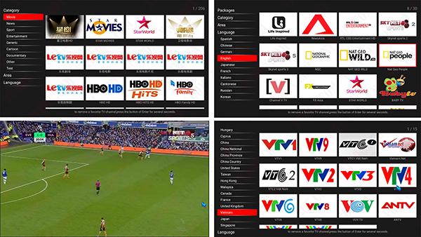 Cách xem HBO các kênh quốc tế trên android tv box bằng CloudTV hacked