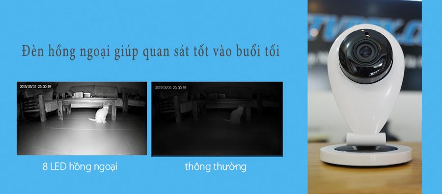 CAMERA IP THÔNG MINH VNSEE MINI FULL HD