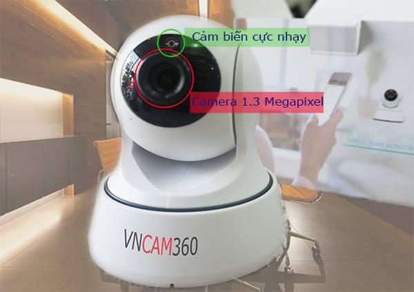 Camera Wifi quan sátVNCam360 nổi bật về sự ổn định