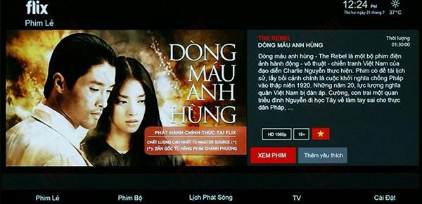 Chia sẻ cách xem truyền hình trên FlixTV bản quyền hoàn toàn miễn phí