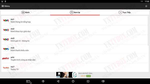 Chia sẻ ứng dụng XemTV nhiều kênh miễn phí chất lượng tốt dễ sử dụng