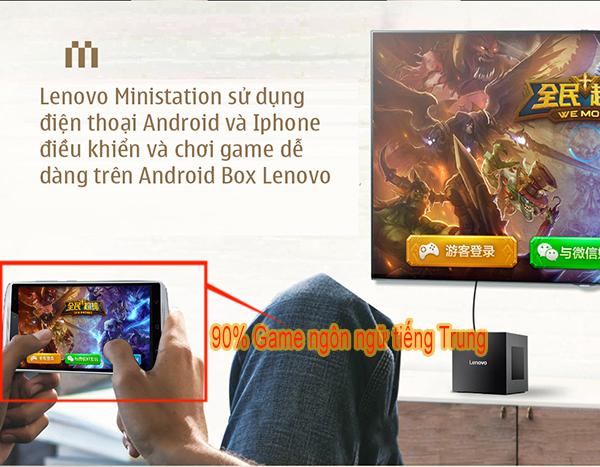 Đánh giá nhận xét Lenovo Ministation VXC10: TV Box kiêm máy chơi game