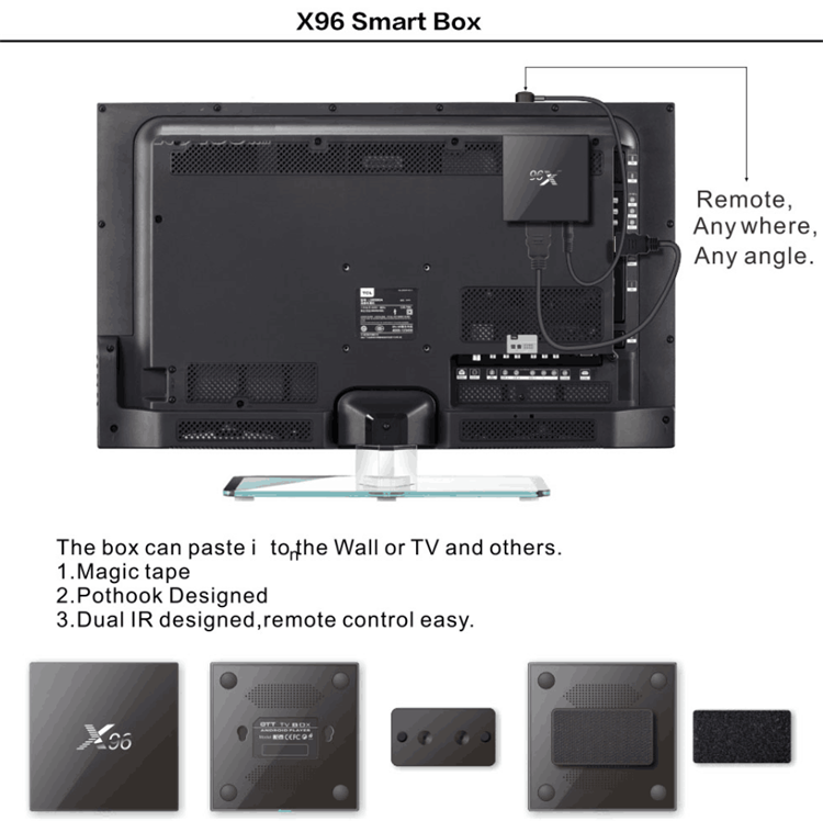 ENYBOX EX96 Amlogic s905x android 6.0 ram 2GB giá rẻ