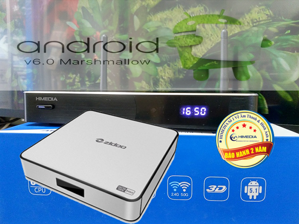 Firmware android 6.0 cho Himedia H8 Plus Zidoo X6 Pro rockchip rk3368