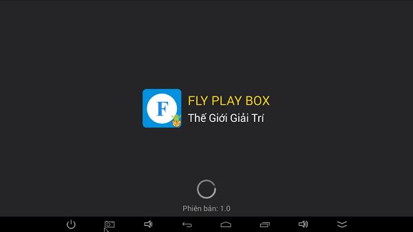 ứng dụng Fly box TV