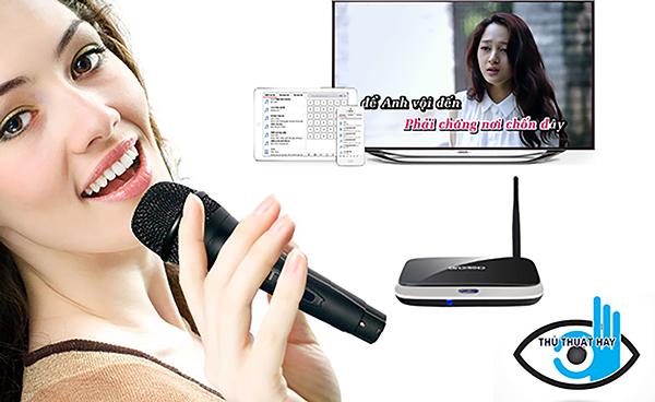 Giải pháp karaoke đơn giản dễ lắp lại vừa túi tiền với android tv box
