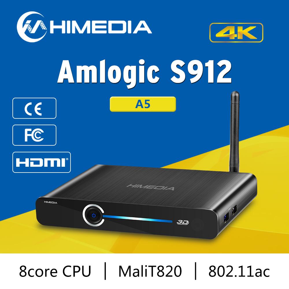 Himedia A5 dùng Android 6.0 chip lõi Tám Amlogic S912 2GB RAM