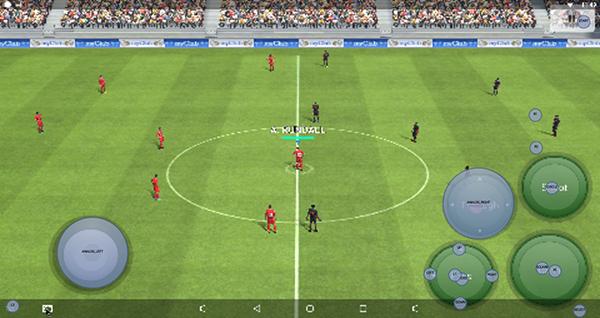Hướng dẫn map phím Gamepad để chơi PES Liên Quân game màn hình cảm ứng