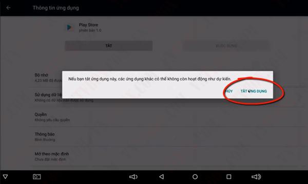 Khắc phục lỗi ứng dụng Cửa hàng Google Play không tương thích