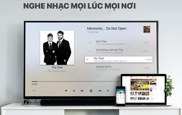Kích hoạt VIP NhacCuaTui TV nghe nhạc xem video Full HD