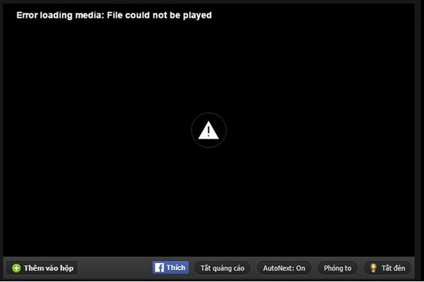 Giải quyết các vấn đề khi xem phim Online bị lỗi không load trang