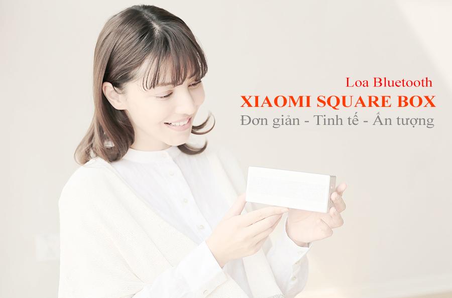 Loa Bluetooth Xiaomi Square Box cao cấp chính hãng