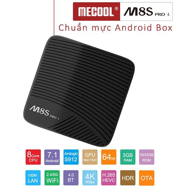 mecool M8S pro L tv box tot nhat
