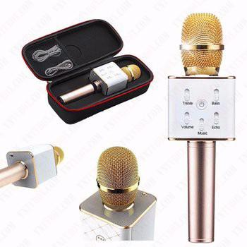Micro Karaoke TUXUN Q7 tích hợp loa chuẩn âm thanh cực rõ