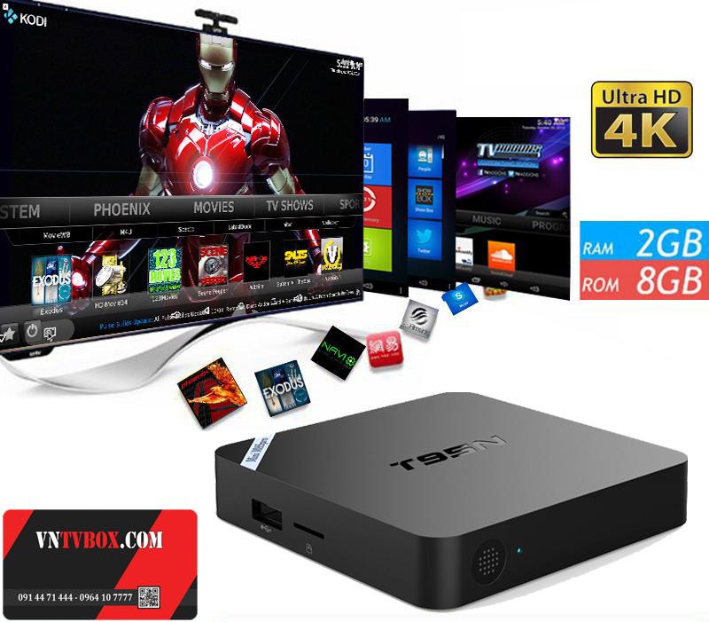 MINI M8S PRO AMLOGIC S905 RAM 2GB MÃ HIỆU T95N