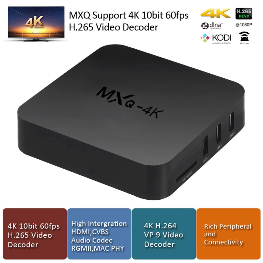 MXQ-4K phiên bản nâng cấp của dòng Android TV Box giá rẻ MXQ