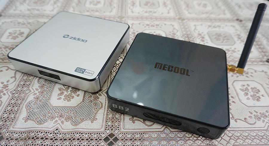 So sánh cấu hình chức năng của Mecool TV Box với máy cùng phân khúc